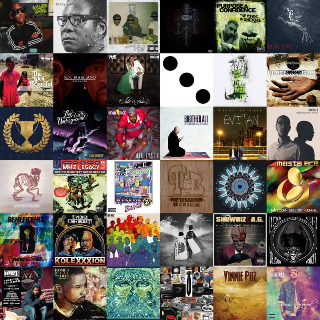 best hip hop albums of 2012