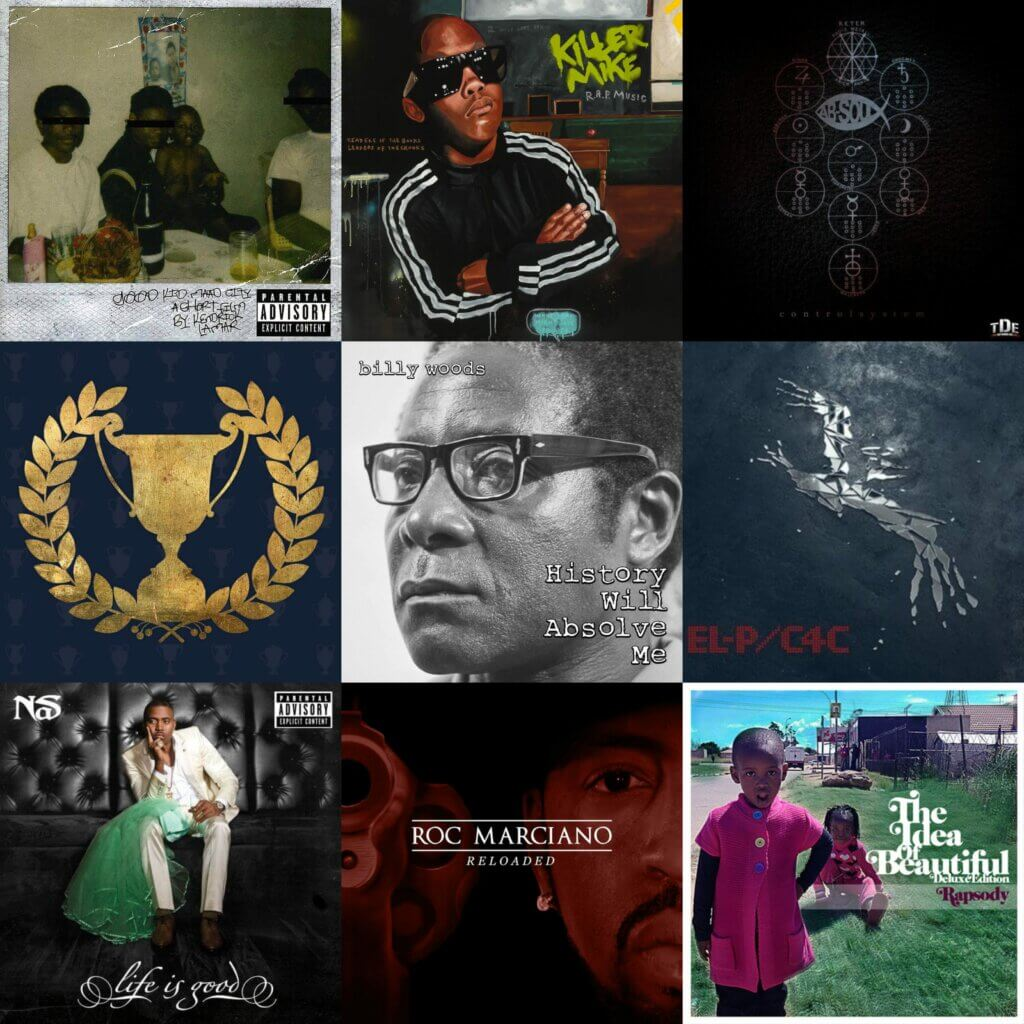 Top 40 Hip Hop Albums 2012