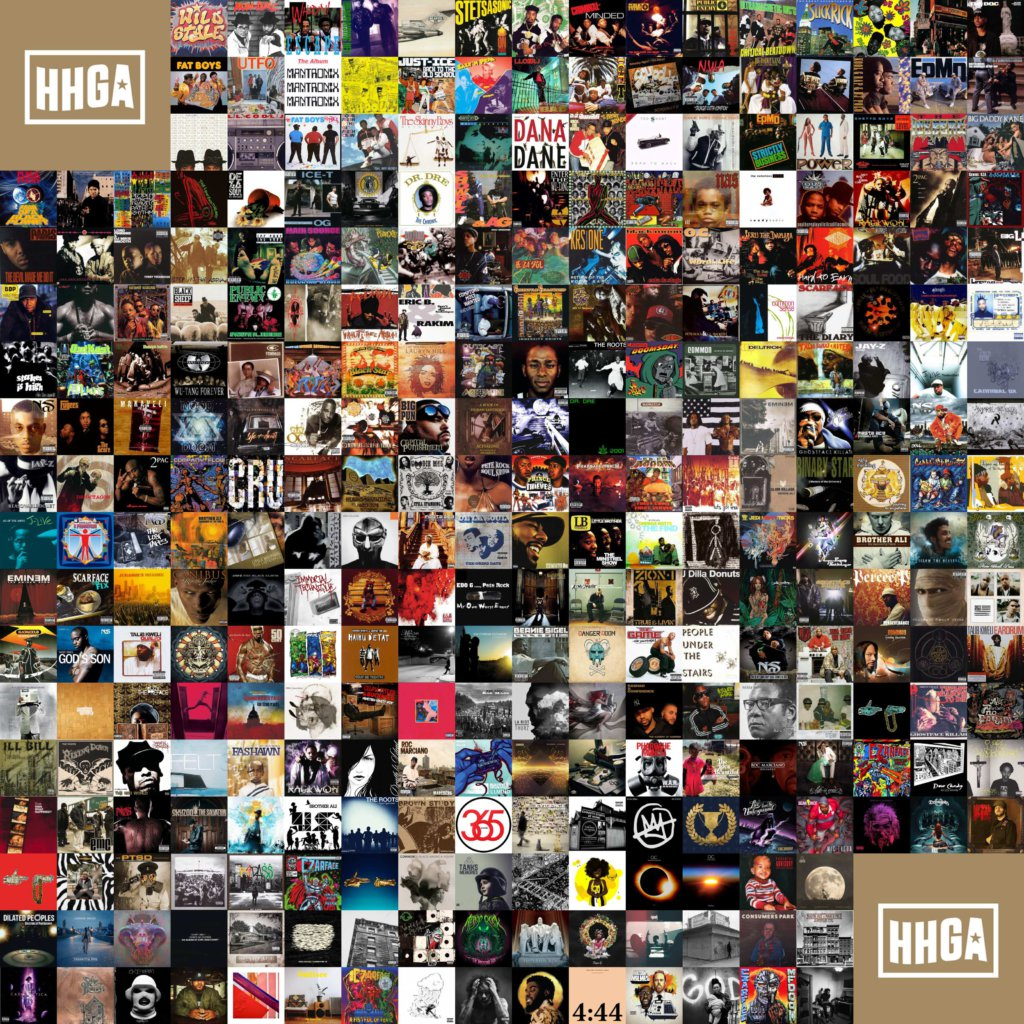 Greatest Hip Hop Albums 1980 - 2019 - Hip Hop Golden Age Hip