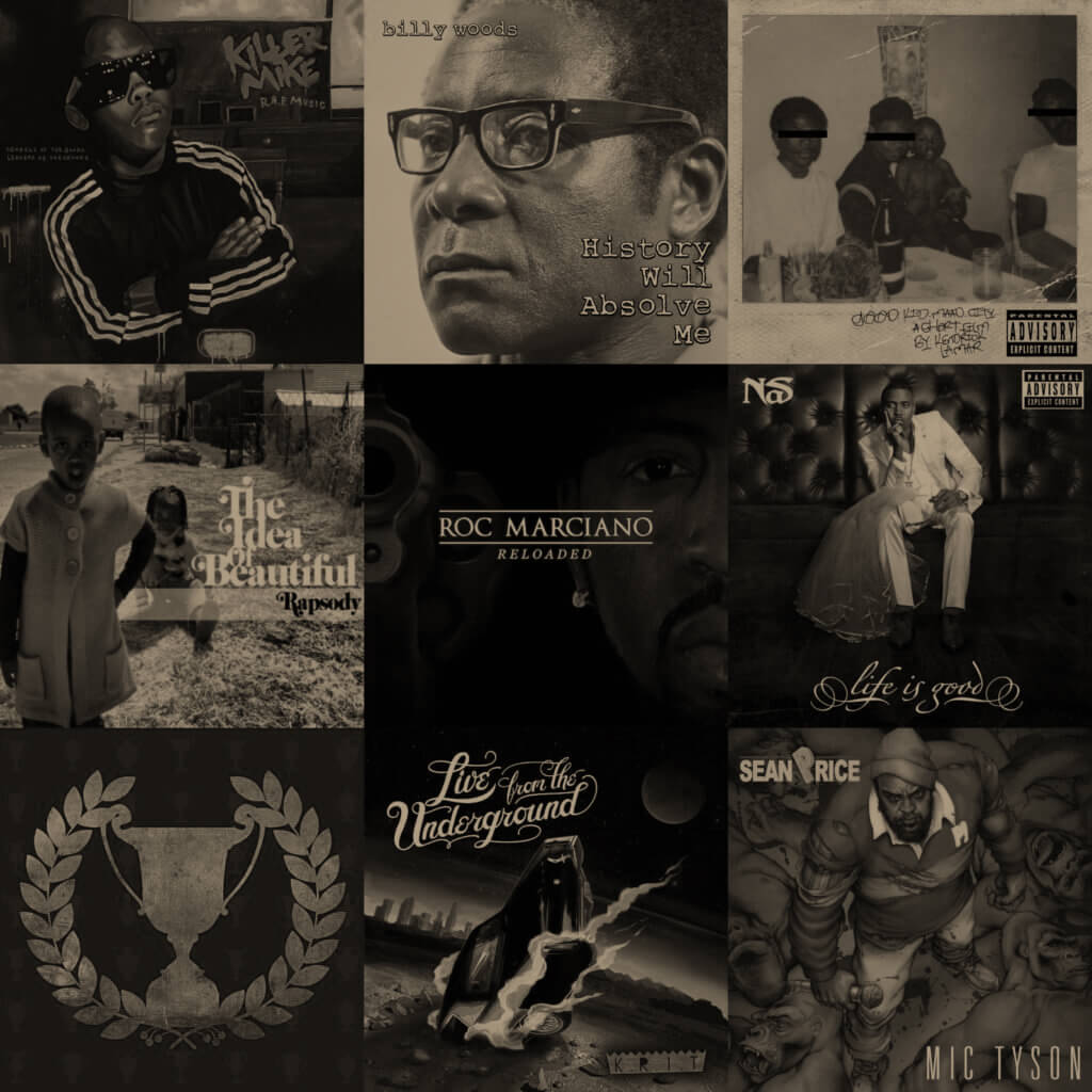 Top 40 Hip Hop Albums 2012 - Hip Hop Golden Age