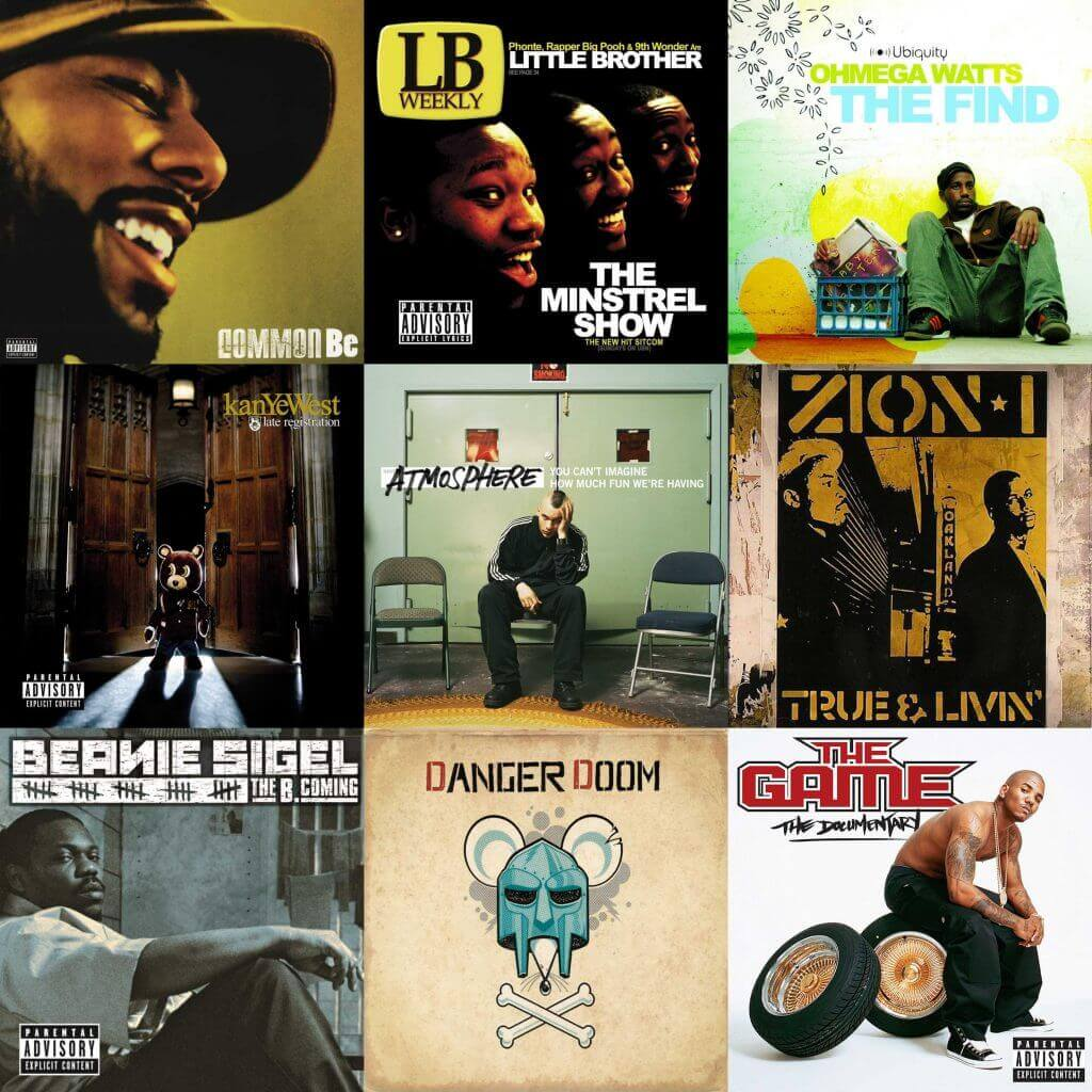 best hip hop albums 2005