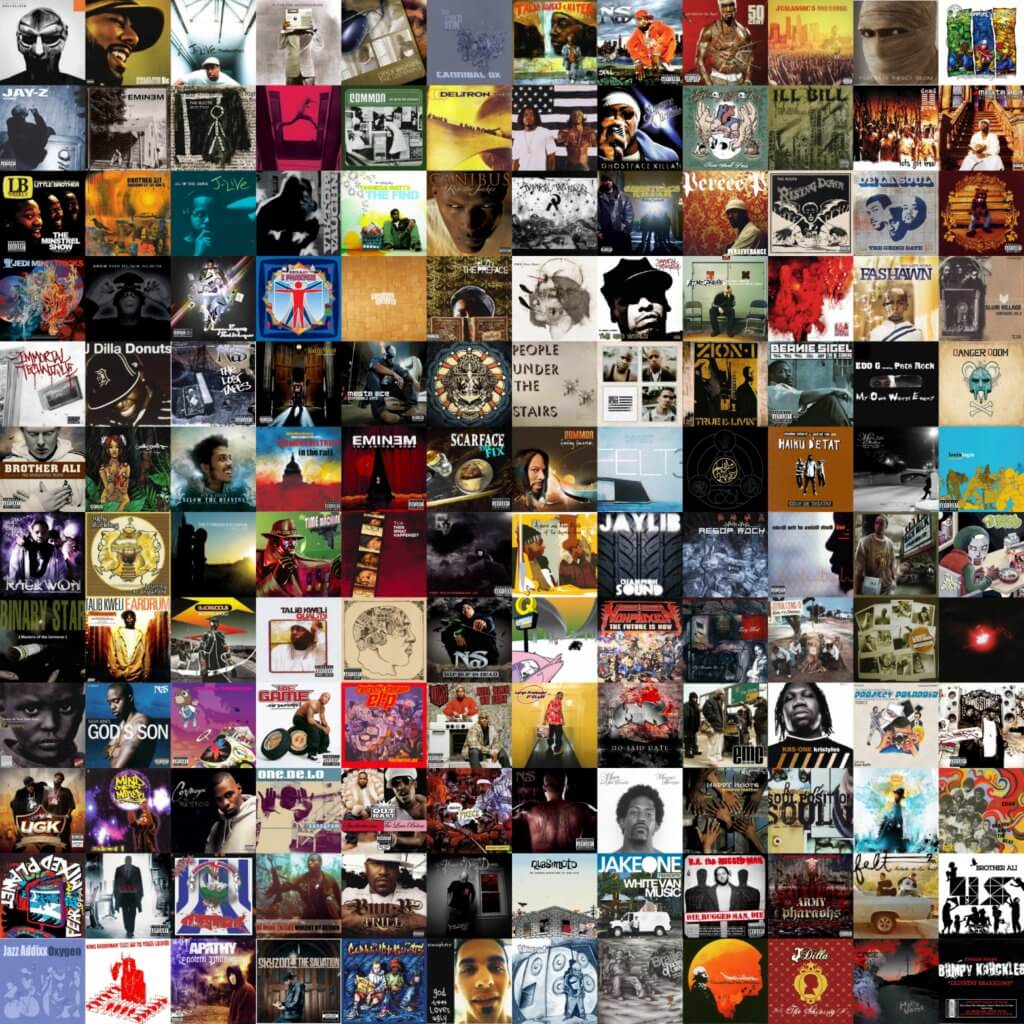 best hip hop albums of the 2000s