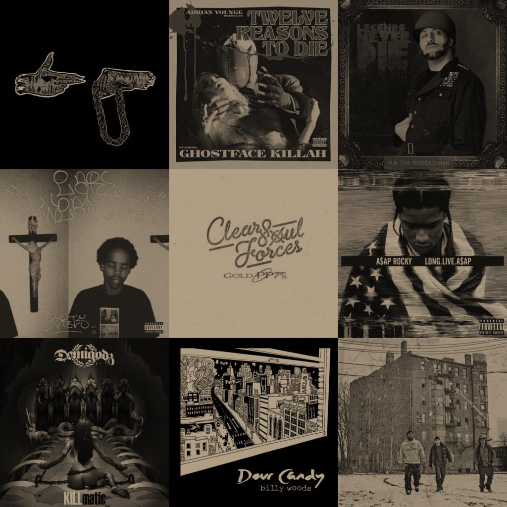 Top 40 Hip Hop Albums 2013 - Hip Hop Golden Age