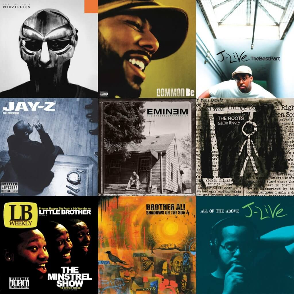 Top 150 Hip Hop Albums Of The 2000s