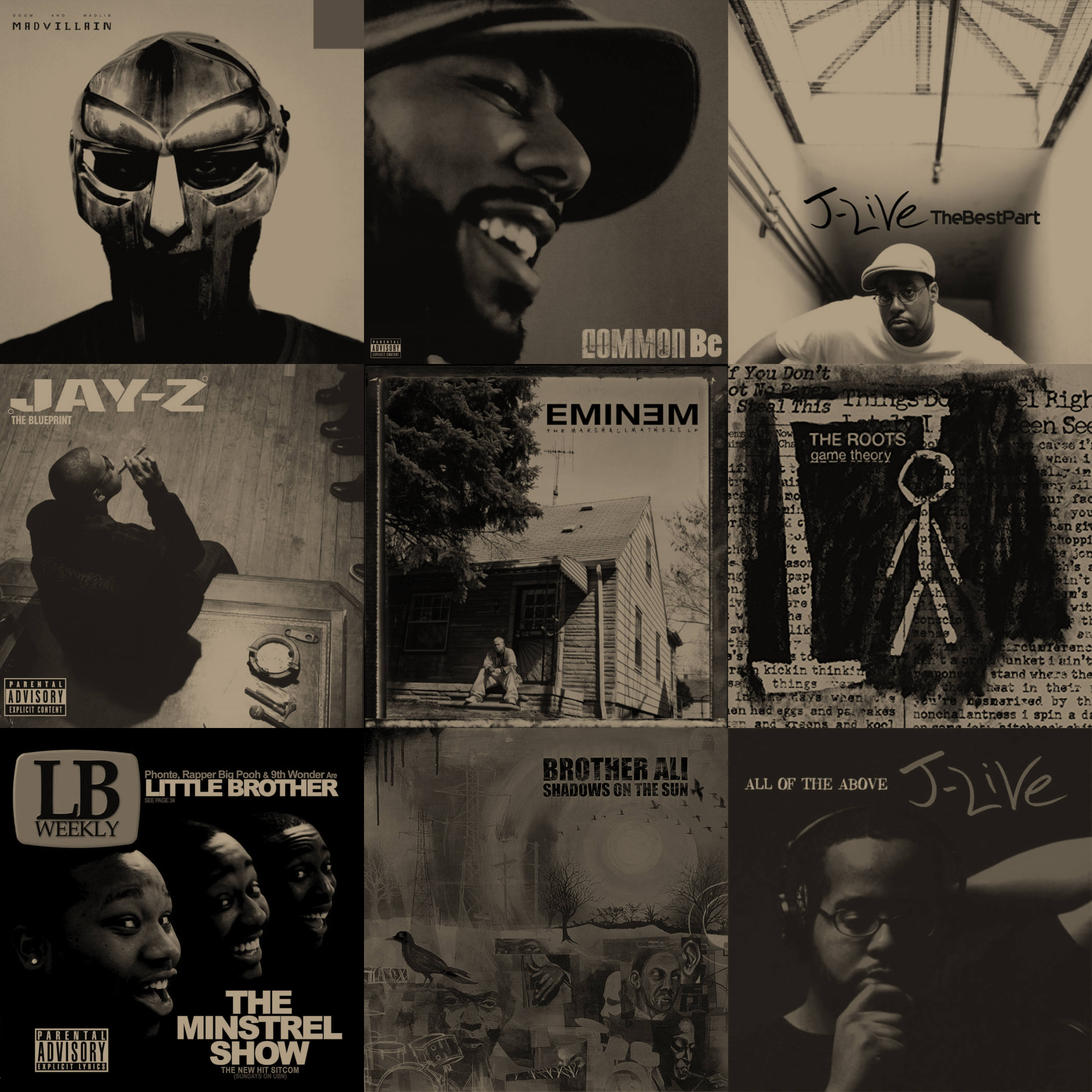 Top 150 Hip Hop Albums Of The 2000s - Hip Hop Golden Age