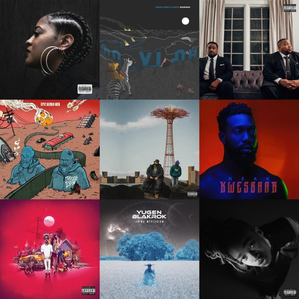 The Best Hip Hop Albums Of 2019 - Hip Hop Golden Age Hip Hop
