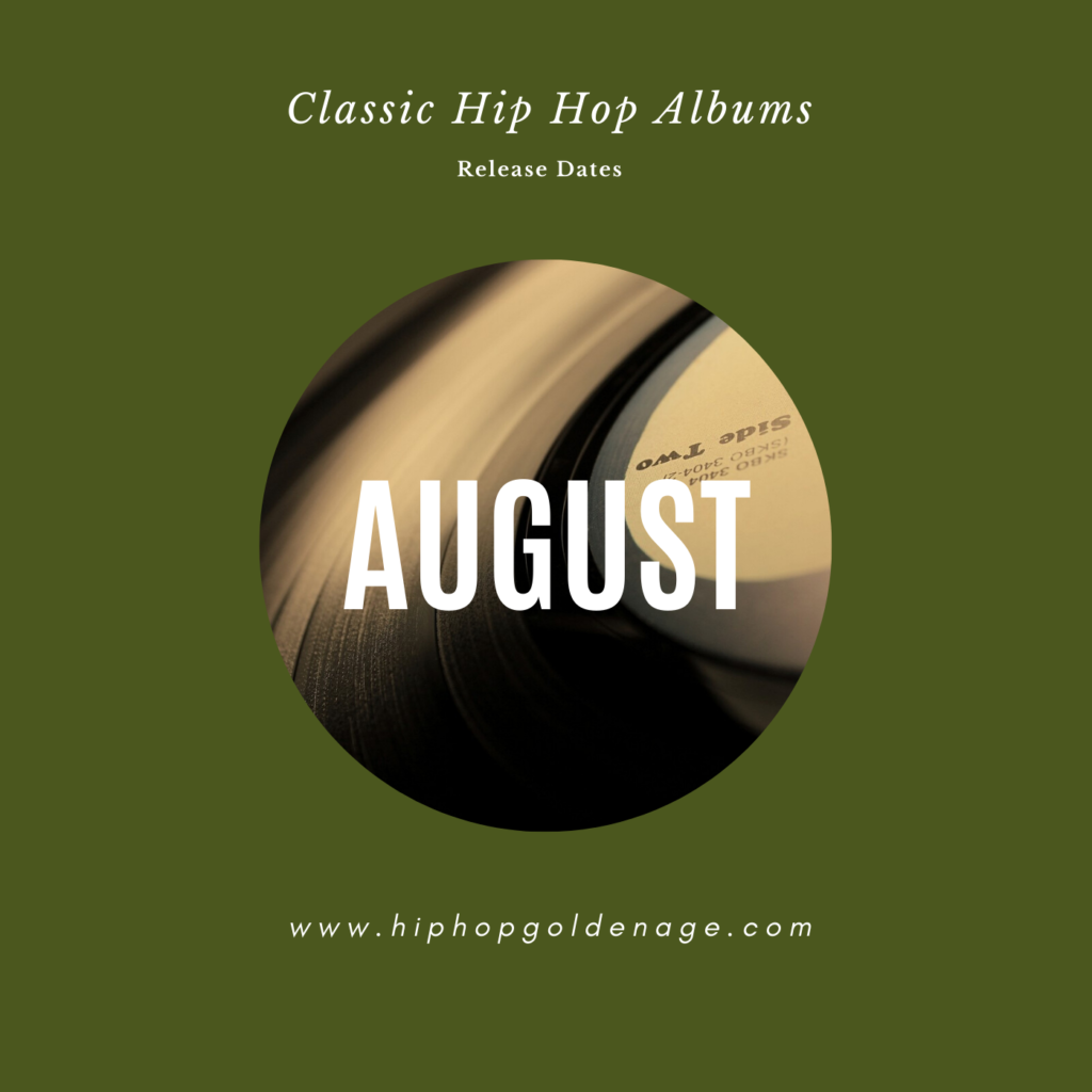 august hip hop releases