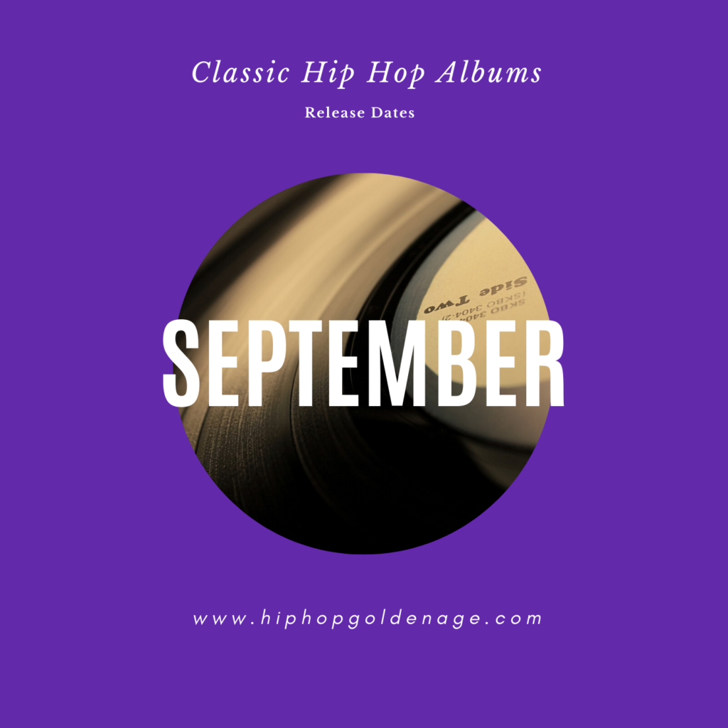 hip hop released in september