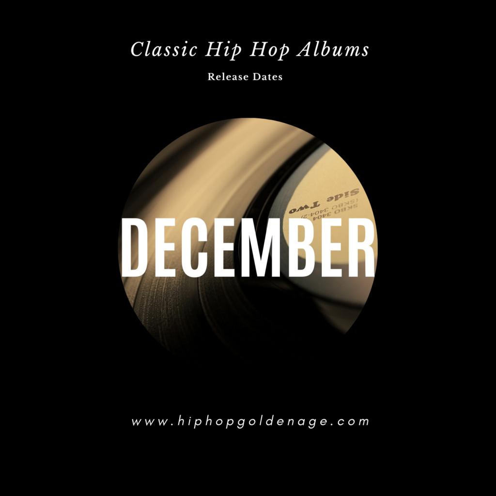 December hip hop releases