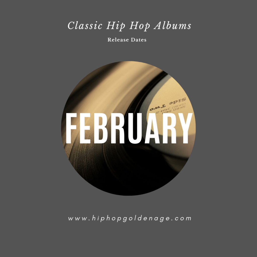 release date hip hop albums february