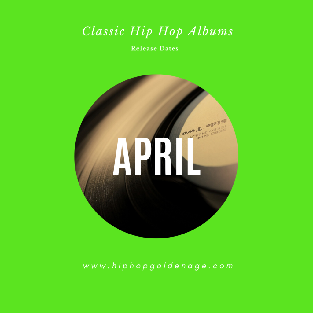 april hip hop album releases