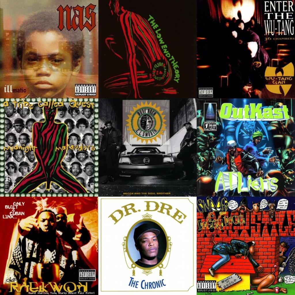 greatest hip hop albums nineties