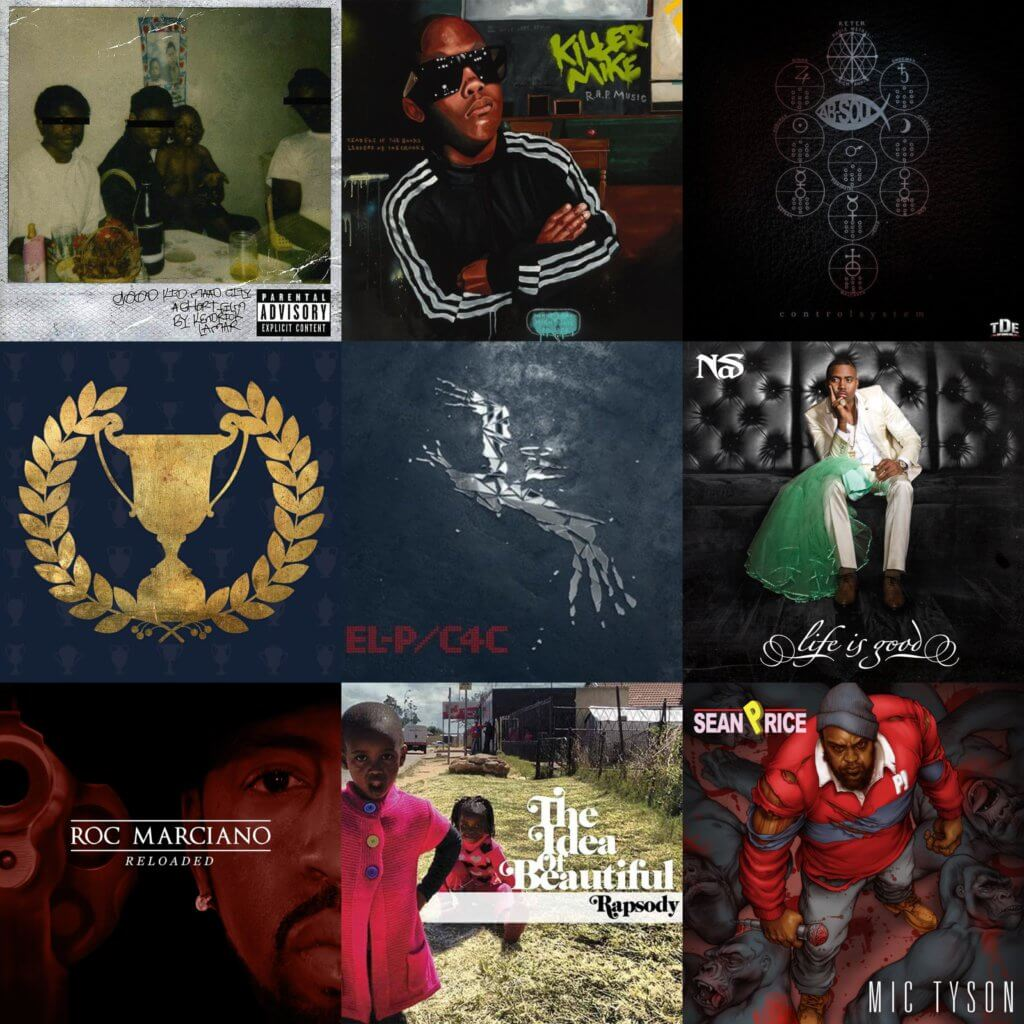 greatest hip hop albums ever 2012