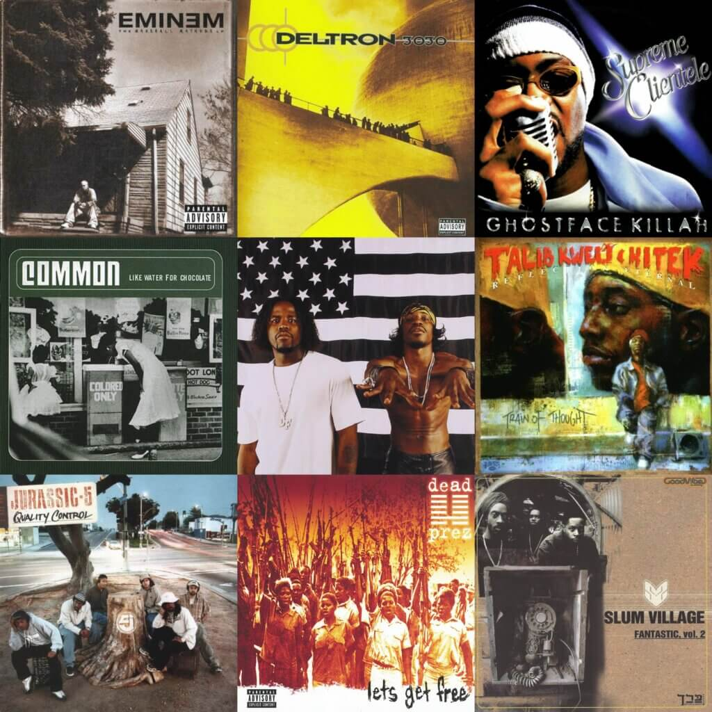 Top 40 Hip Hop Albums 2000