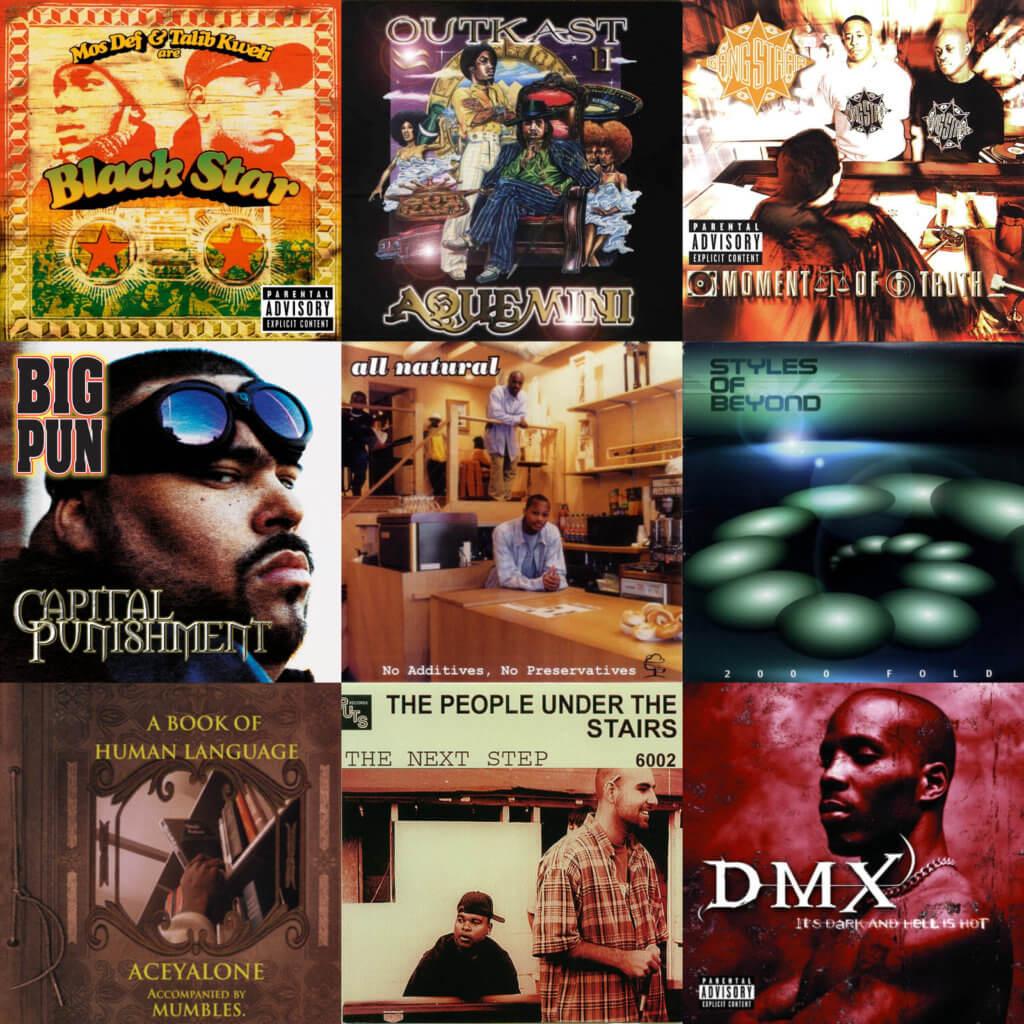 Top 40 Hip Hop Albums 1998