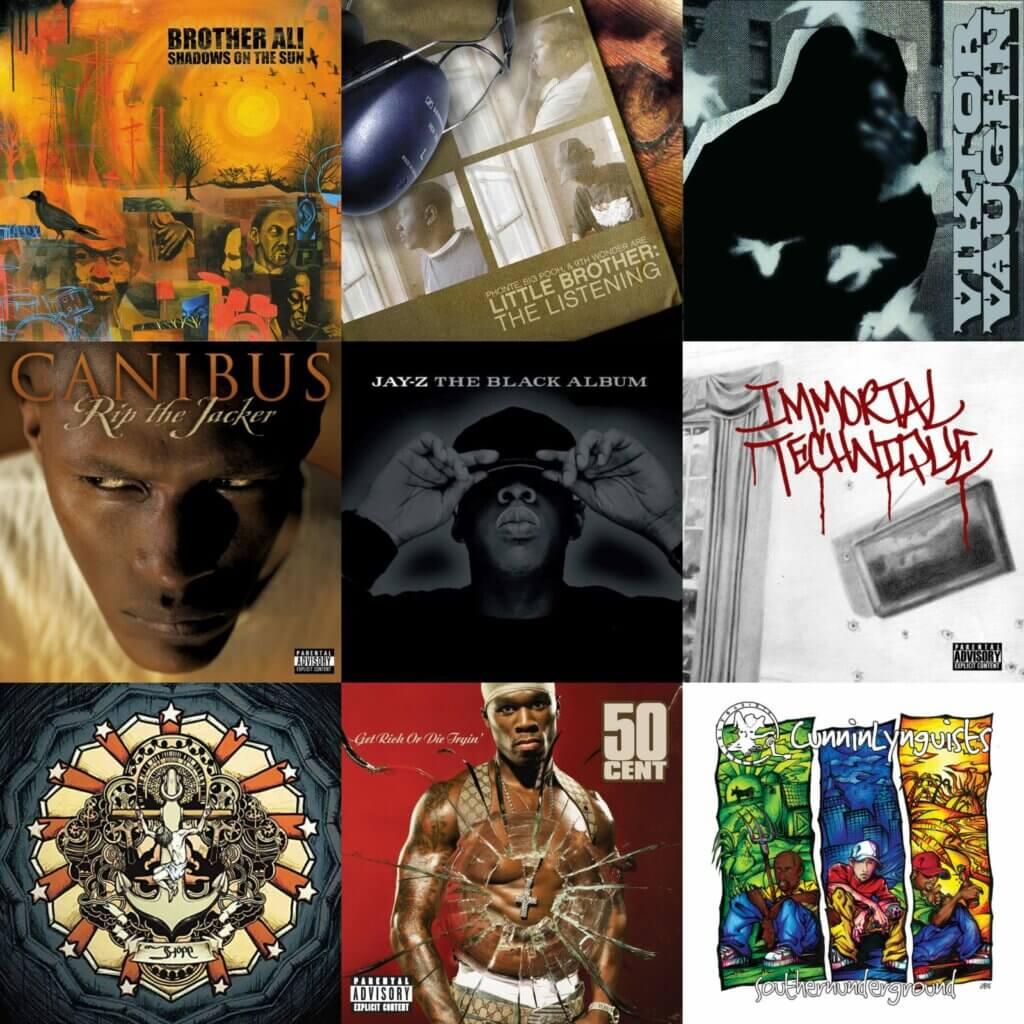 Top 40 Hip Hop Albums 2003