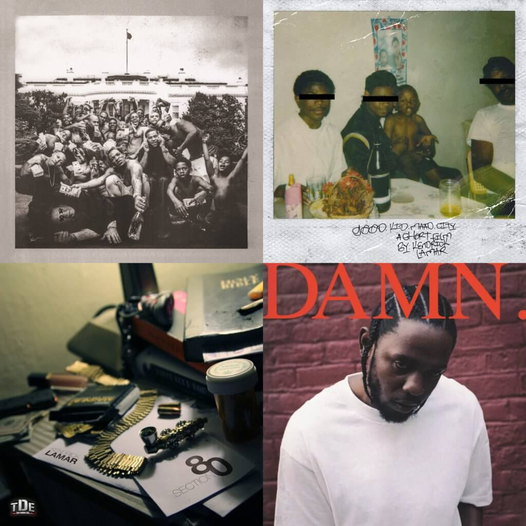 ranking kendrick lamar albums