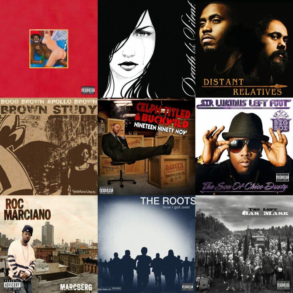 Top 40 Hip Hop Albums 2010