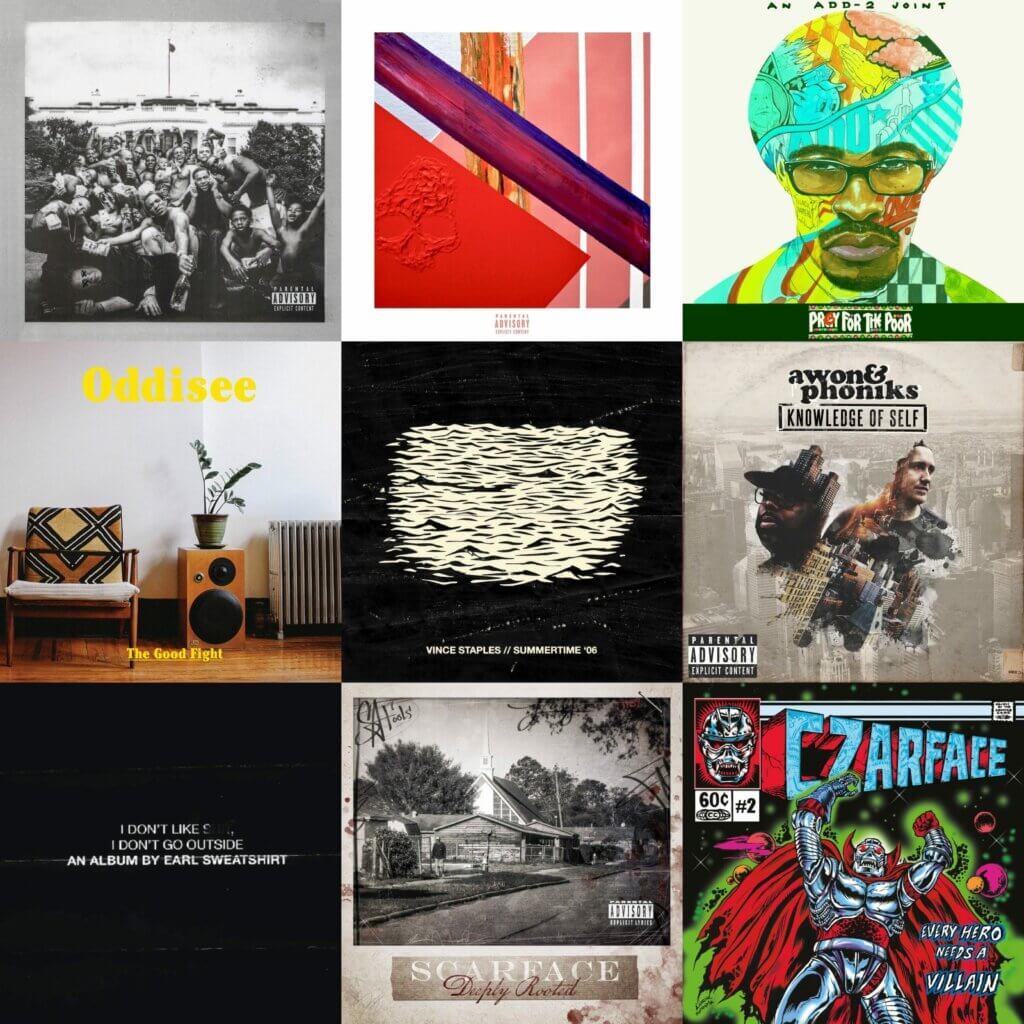 Top 40 Hip Hop Albums 2015