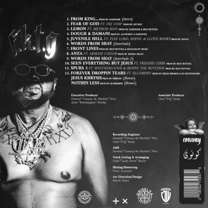 tracklist Conway The Machine - From King To A GOD