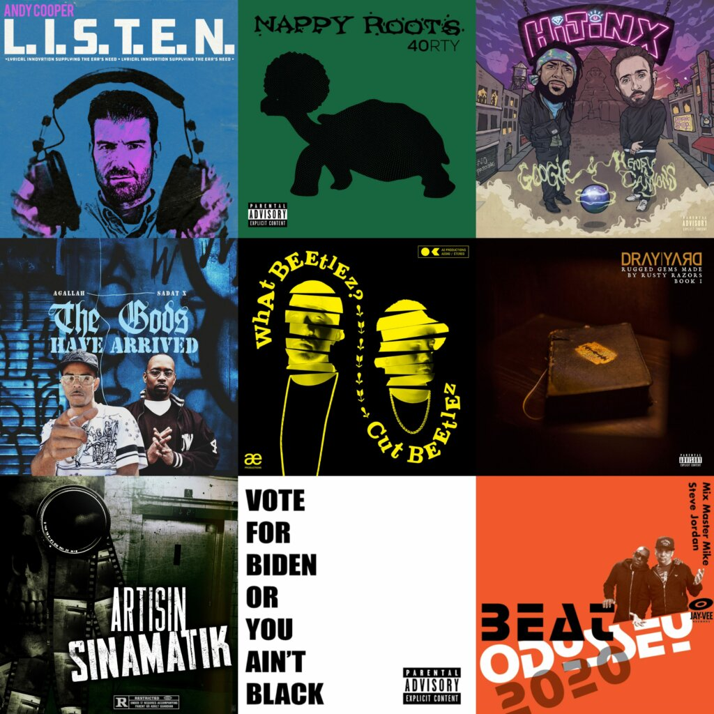 9 Recently Released Hip Hop Albums You Shouldn't Sleep On (September)