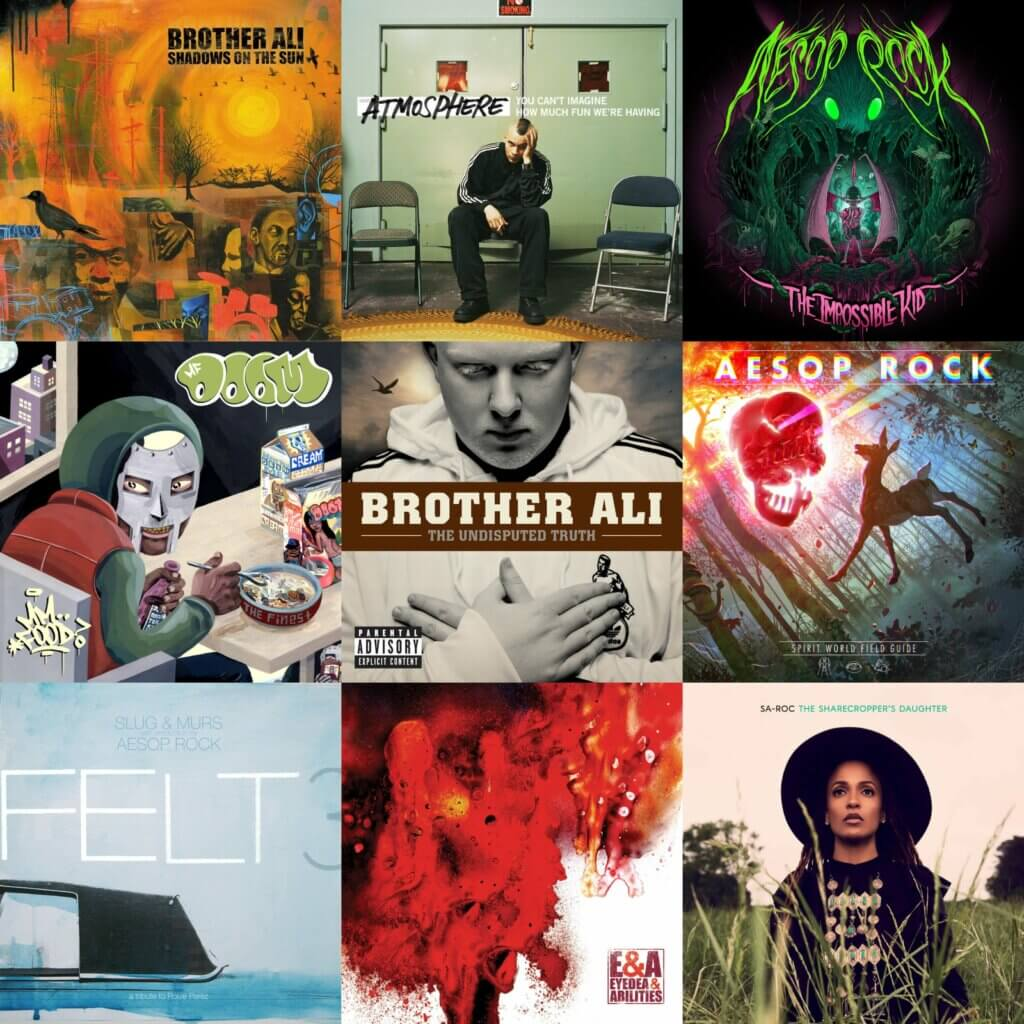 Rhymesayers Entertainment Best Hip Hop Albums