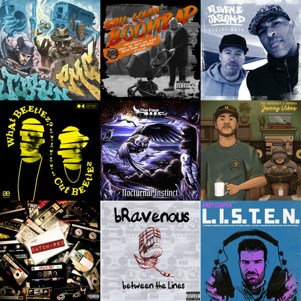 Best 25 Traditional Boom Bap Albums Of 2020
