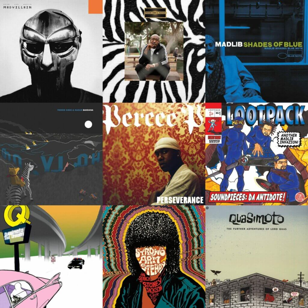Top 10 Albums Produced By Madlib