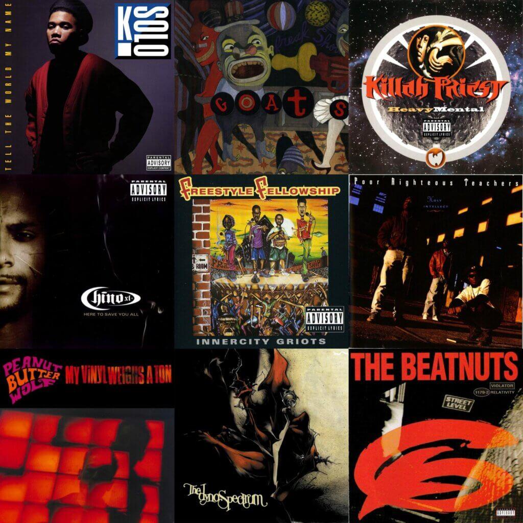 50 Under-appreciated 1990s Hip Hop Albums