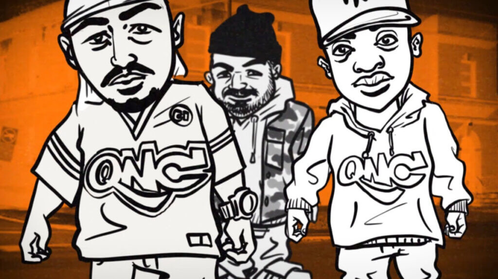 "Roccwell feat. QNC (Q-Ball & Curt Cazal) ""From CI"" Animated Music Video"