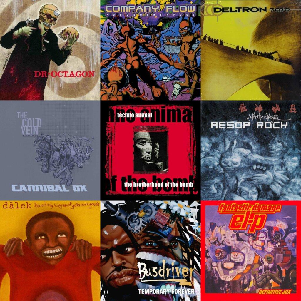 100 Essential Experimental Hip Hop Albums