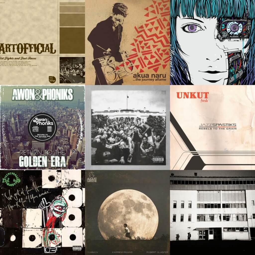 100 Essential Jazz Rap Albums